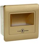 Spot de iluminat trepte cu senzor, pentru  interior DIAMOND /079-026-0002 Auriu
