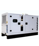 Generator de curent trifazat cu motor diesel HYUNDAI 48kw/53kw 60kva/66kva 380v