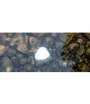 Piatra luminoasa LED Ciottolo Culoare gri inchis