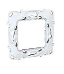 Placa suport 2 module plastic  Unica