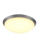 Corp iluminat TAVAN, lumenul MOLDI 46 TAVAN cu LED-uri, 3000K, rotund, aluminiu periat, Ø 45,5 cm, 34W,