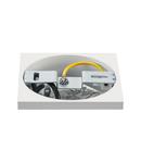 Corp iluminat TAVAN, UNO LUX alb mat, patrat, cu LED-uri, 6W, 38 °, 3000K, inclusiv. Conducator auto,