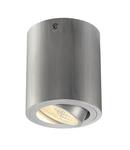 Corp iluminat TAVAN, UNO LUX aluminiu periat, rotund, cu LED-uri, 6W, 38 °, 3000K, including. Conducator auto,