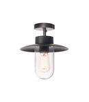 Corp iluminat TAVAN, Molat lumenul Plafon in aer liber, E27, antracit, max. 60W, IP44,