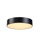 Corp iluminat TAVAN, MEDO 40 de Luminita de Plafon, Plafon negru lumina, LED-uri, 3000K, negru, 1-10V,