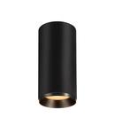 Corp iluminat TAVAN, NUMINOS L de lumini Plafon, LED negru Interior Plafon negru incastrat Deschis / negru 2700K 24 °,
