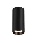 Corp iluminat TAVAN, NUMINOS L de lumini Plafon, LED negru Interior Plafon negru incastrat Deschis / negru 4000K 24 °,