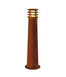 Lampa podea, RUSTY ® Lampadare 70, stand de podea rugina in aer liber, cu LED-uri, 3000K, otel rotund, ruginite, Ø / H 19/70 cm,