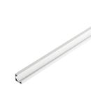 Profil led, GLENOS profil colt 2720, alb mat, 2 m,
