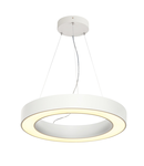 Lampa suspendata, lustra MEDO RING 60 pandantiv, alb interior pandantiv cu LED-uri, alb, 3000K,