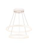 Lampa suspendata, lustra ONE DOUBLE Pendant, white Indoor LED pendant light white CCT switch 2700/3000K,