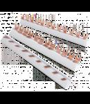 Busbar tripolar 63A tip furca-1ml