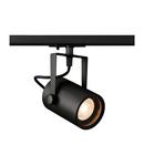 Iluminat decorativ pe sina, EURO SPOT TRACK Melodii GU10, negru negru, QPAR51 25W, incl. 1 adaptor circuit,