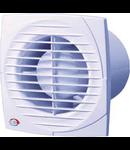 Ventilator axial 125mm cu timmer cu jaluzele