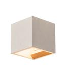 Corp iluminat de perete, aplica, lumini SOLID CUBE perete G9, gri
