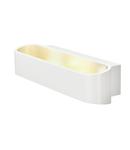 Corp iluminat de perete, aplica, ASSO 300 de perete lumini, LED alb, 3000K, ovale, de culoare alba, L / W / H 30 / 9,5 / 7 cm,