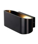 Corp iluminat de perete, aplica, lumini OSSA 180 Perete R7s 78mm, negru