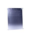 Placa de montaj pentru metale DIN cofret 3 Marime
