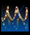 BANDA CU AUTOCOLANT ALBA IP54 12VDC LUMINA ROSU