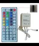 CONTROLER + DIMMER CU TELECOMANDA 12V/24V