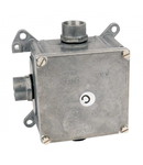 Doza metalica de distributie metalica 96x96x64 TNS 3 mufe