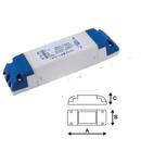 Amplificator banda led  monocolora 12V / 24V 144/288w