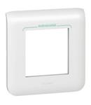 Placa ornament 2 module antimicrobian
