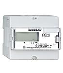 Contor digital kWh 3f, 80A direct, 2tarife, com. Modbus