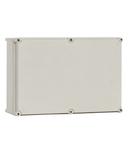 Cutie din poliester cu capac gri 270x180x171mm
