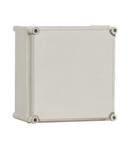 Cutie din poliester cu capac gri 540x540x201mm