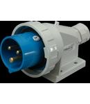 Fise industriale aparente SEZ IP67 cod IPG 1632 3 x 16A 230 V
