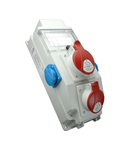 Panou de distributie ROS 5/x-15/S 1 x priza 5x16A 1 x priza 5x32A (400V) 2xprize schuko 16A(230V)