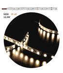 Banda LED 14.4W 12V IP20 5050 12V DC lumina rece 5050 W 10mm h 2mm