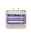 Capcane electrice pentru insecte cu adeziv Capcana electrica pt. insecte cu adeziv, 2x8W (T5) argintiu HACCP