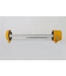 Antiexplosive LED light LED nepermanent autonomie 1h 350lm consum <25mA baterie 3.6V/1.6Ah 220-240V AC