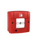 Accesorii conventionale - Buton de apel cu actionare manuala Baza de montare pe perete pentru BS-536