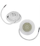 Spot alb cu LED pentru mobila 400 cod 21-40000 D 70mm h 20mm