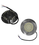 Spot satinat cu LED pentru mobila 4006 cod 21-41066 D 70mm h 20mm