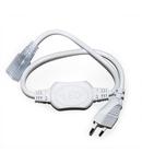Accesorii pentru banda LED 230V IP65 cablu de alimentare 230V