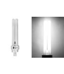 Bec PLC 2 pini G24d2 G24d2 G24d2 18W lumina alba L 153mm