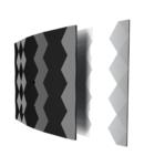 Ventilator axial gama Black & White standard - Ø100 - Alb 100 40db 2650rot./min 15