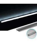 Profil Aluminiu LAT PT. pentru banda LED&accesori dispersor mat lat - L:1m