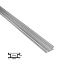 Profil aluminiu pentru pardoseala ST profil ingropat pt. pardoseala- L:1m W:20mm h:8mm