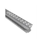 Profil aluminiu rigips colt intern pentru banda LED & accesorii profil colt intern - L:2m W:48,4mm h:27,5mm
