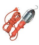 Lampa portabila metal / plastic cu cablu cod 4-011220 E27 E27 E27