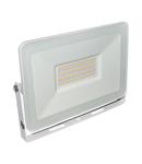 Proiector slim alb cu LED 50W lumina rece 4500lm L 240mm W 174mm h 30mm