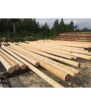 Stalp din lemn pentru iluminat stradal sau linii electrice aeriene, inaltime 5 metri