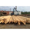 Stalp din lemn pentru iluminat stradal sau linii electrice aeriene, inaltime 4 metri