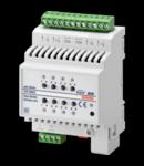 Actuator jaluzele EASY - 4 canale - 6A - EASY - 4 module- montare pe sina omega
