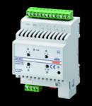 EASY DIMMER ACTUATOR - EASY - CVD - 12-24 V dc - 4 module - montare pe sina omega